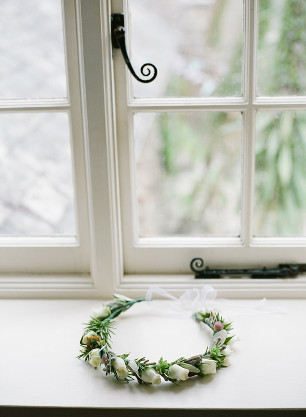Whimsical Made With Love Wedding Holiday Rose Flower Crown Bridal http://rosieanderson.co.uk/