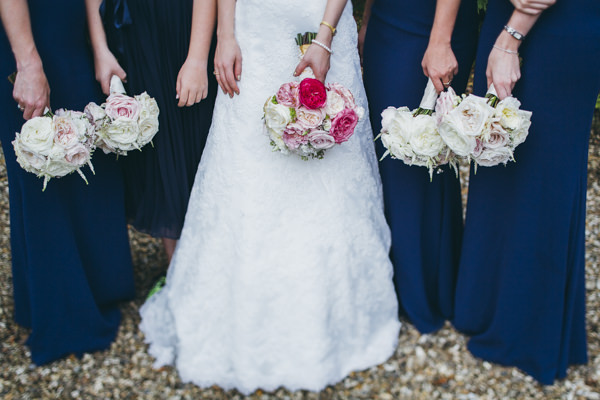 Luxe Traditional Pink Gold Wedding Rose Bridal Flowers Bouquet http://www.annataylorphotography.co.uk/