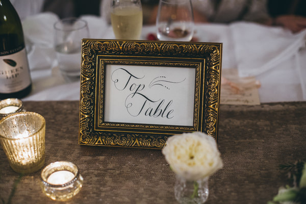 Luxe Traditional Pink Gold Wedding Calligraphy Table Name http://www.annataylorphotography.co.uk/