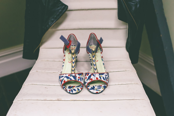 Creative Hand Crafted Swimming Pool Wedding Irregular Choice Shoes Bride http://www.emmaboileau.co.uk/