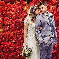 Fun Loving Rustic Chic Autumn Wedding http://stevegerrard.com/