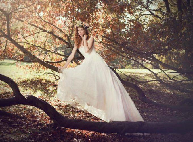 "SHANNA MELVILLE - Wedding Dress - Collection AW 2014 - 2 ""Chloe"""