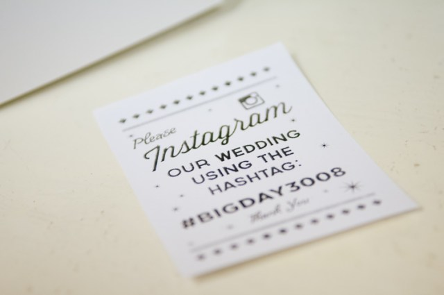 Instagram Wedding Stationery Eclectic Vintage Music Party Wedding http://www.theretreat.co/