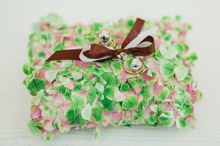 Ring Pillow Dreamy Chocolate Coffee Wedding in Lithuania http://jurgitalukos.com/