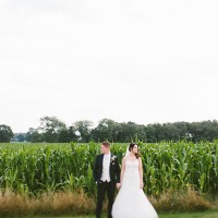 Rustic Farm Barn Fairy Lights Wedding http://www.danhoughphoto.com/