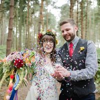 Our Whimsical Woodland Wedding Ceremony UK http://alexa-loy.com/