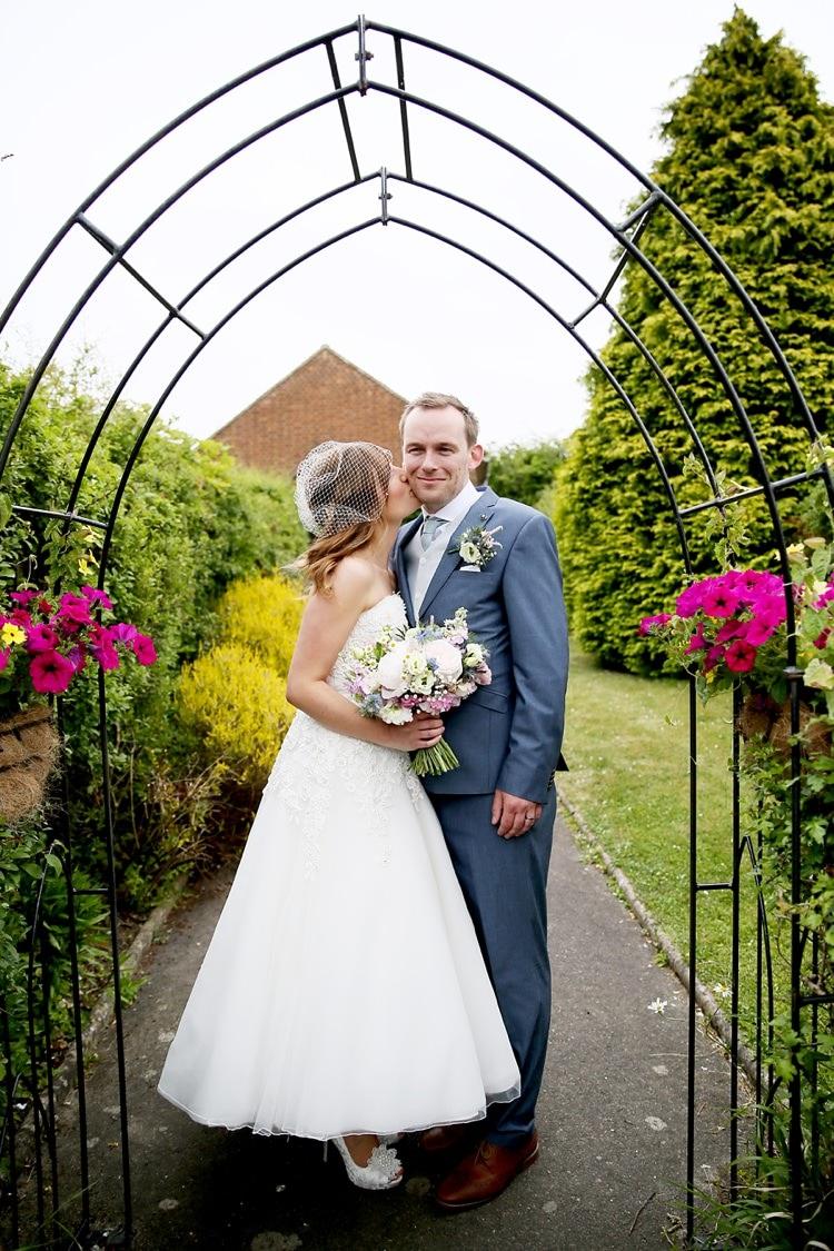 Sweet DIY Floral Pastel Village Hall Wedding