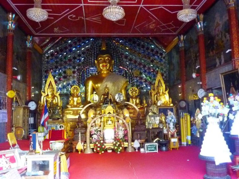 Where I prayed with a monk
