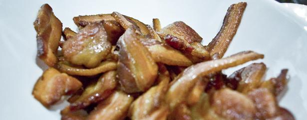 Beer Bacon Bourbon-Jack Daniel's Whiskey Baked Bacon Recipe