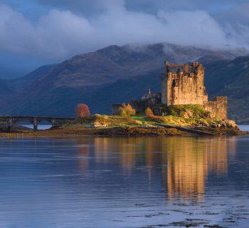Castle --- Image by © Olimpio Fantuz/SOPA/Corbis