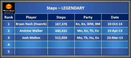 Steps-Legendary