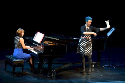 Sarah Jo Kirsch with Madeline Hildebrand