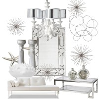 Winter White Sparkle | Home Decor Ideas