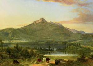 Mount Chocorua and Chocorua Lake from Tamworth by Asher B. Durand