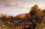 White Hills in October, Presidential Range from Israel River in Jefferson by Aaron Draper Shattuck