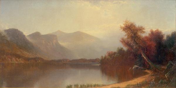Echo Lake, Franconia Notch by Alfred Thompson Bricher