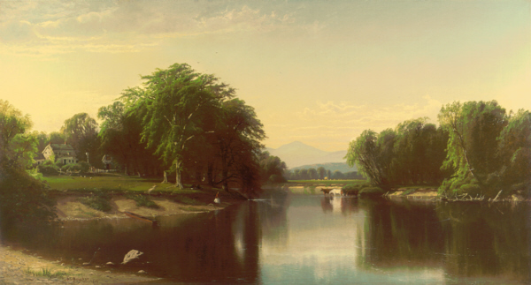 Mount Kearsarge from the Saco River by Alfred Thompson Bricher