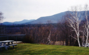 South Moat (right) and Chocorua (left)