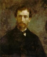 Sanford Robinson Gifford (1823-1880) by Eastman Johnson (1824-1906)