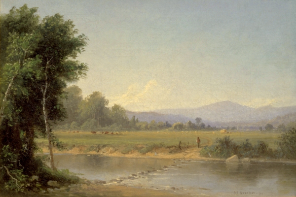 Mount Washington by Alfred Thompson Bricher