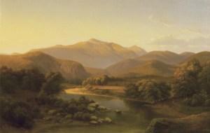 Mount Washington from Saco River by Ann Sophia Towne Darrah