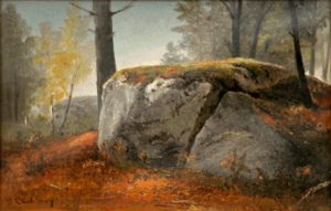 Big Boulder by Benjamin Champney