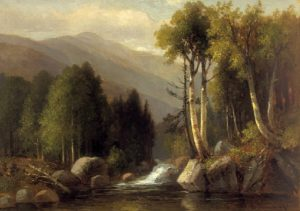 Mount Washington from the Ellis River by Benjamin Champney
