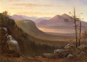 Thompson Falls and the Saco Valley by Benjamin Champney