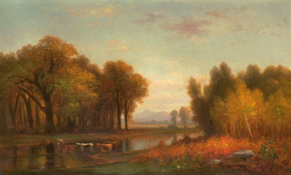 Mount Chocorua from Artist's Brook by Benjamin Champney