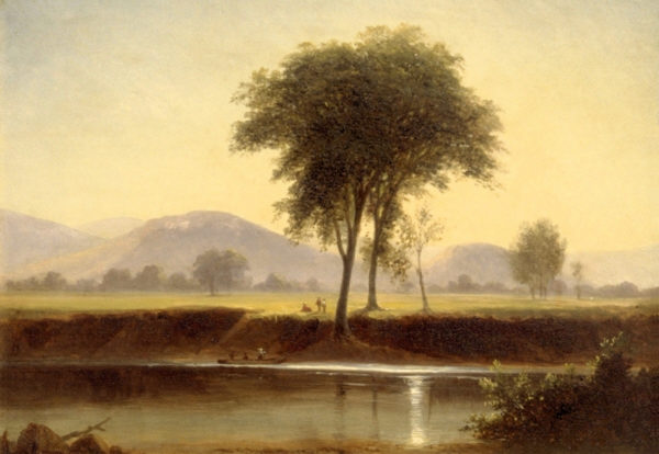 On the Saco by Benjamin Champney