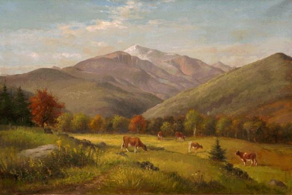 Mount Washington from Jackson by Delbert Dana Coombs