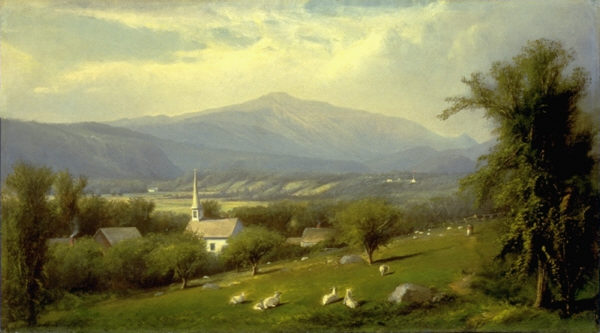 Mount Washington from Sunset Hill, North Conway by Henry A. Ferguson