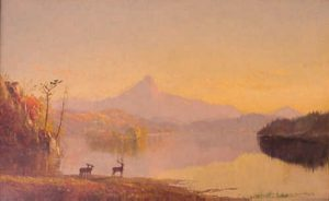 Lake Near Mount Chocorua by Jasper Francis Cropsey