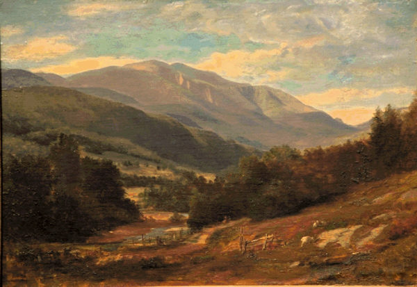 Mount Washington from Jackson by Samuel Lancaster Gerry