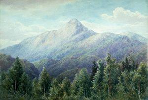 Mount Chocorua from Wonalancet by William F. Paskell