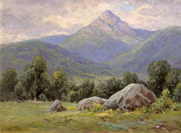 Mount Chocorua from Tamworth by William F. Paskell