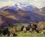 Mount Washington from Jackson by Aldro Thompson Hibbard