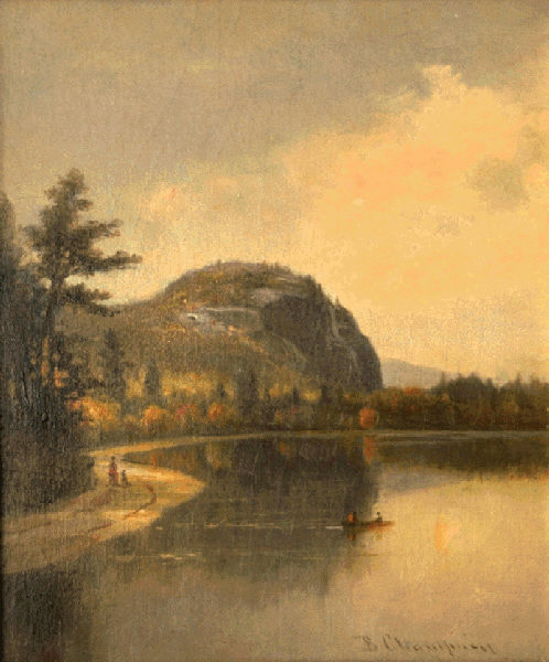 Cathedral Ledge and Echo Lake by Benjamin Champney