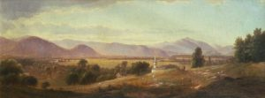 Mount Washington from Sunset Hill with Champney's Homestead by Benjamin Champney
