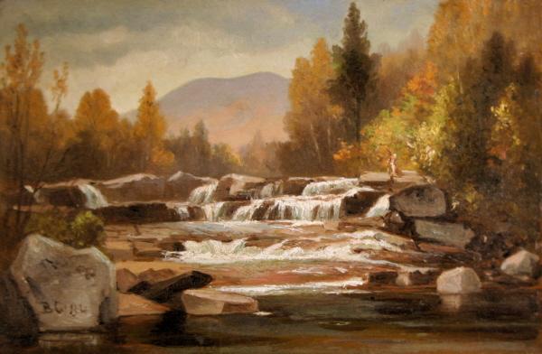 Jackson Falls on the Wildcat River, Jackson by Benjamin Champney