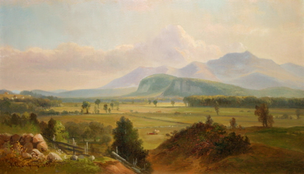 Moat Mountain and the North Conway Ledges by Benjamin Champney