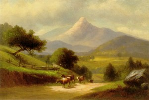 Mount Chocorua from Tamworth by Benjamin Champney