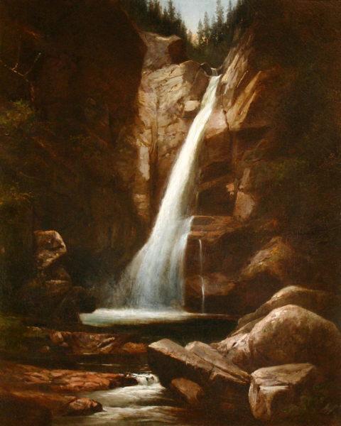 Glen Ellis Falls by Benjamin Champney