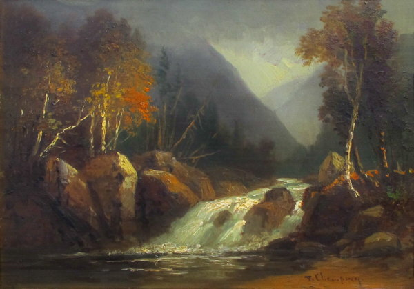 Ellis River in Pinkham Notch by Benjamin Champney