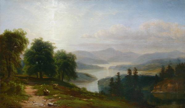 Lake Winnipesaukee from Red Hill by Bradford Freeman