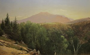 Mount Lafayette from Franconia by David Johnson