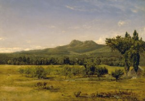 Mount Chocorua from Albany by David Johnson