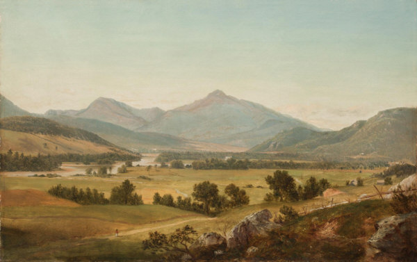 Mount Washington and Mount Madison and the Androscoggin River, Shelburne by David Johnson