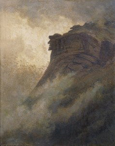 Old Man of the Mountain by Edward Hill