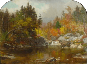 The Emerald Pool, Pinkham Notch by Samuel Lancaster Gerry